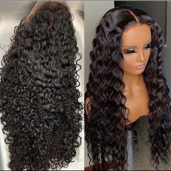 Curly 26 inch wig